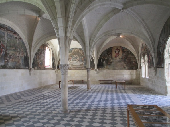 font side chapel painting