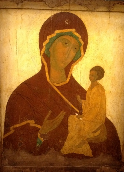 Icon larger mother of god