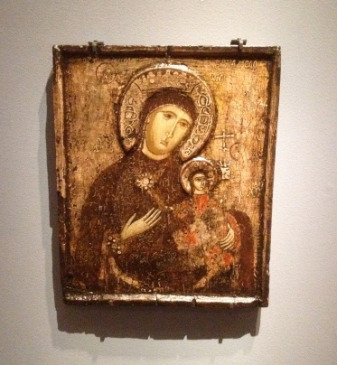 Icon Mother of God of the passion