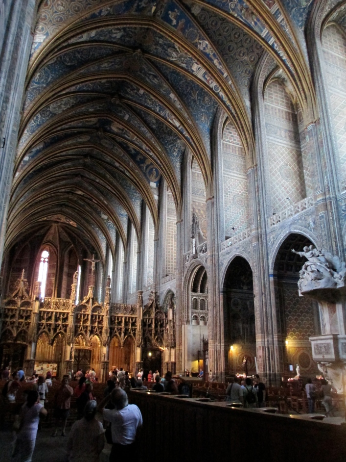 Albi cathedral inside