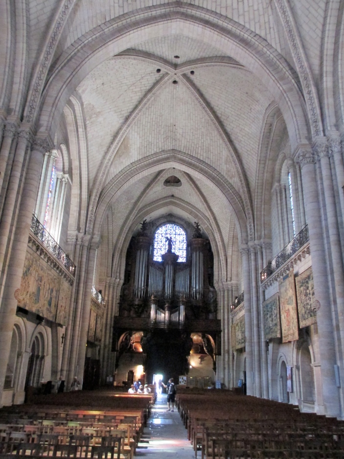 Angers Cathedral inside