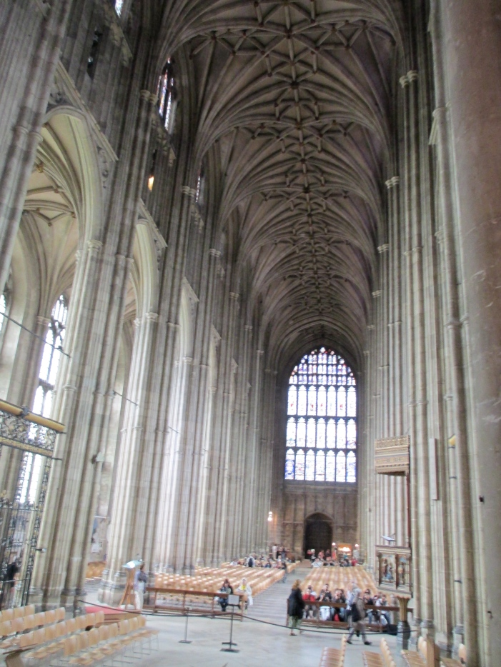 Canterbury Cathedral inside