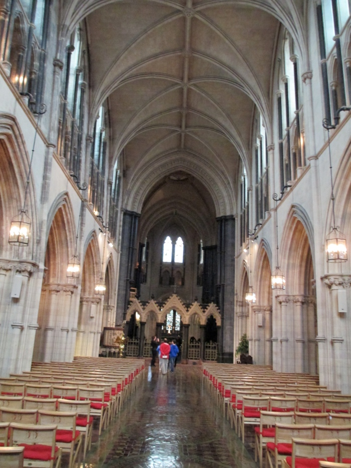 christ church cathedral dublin inside