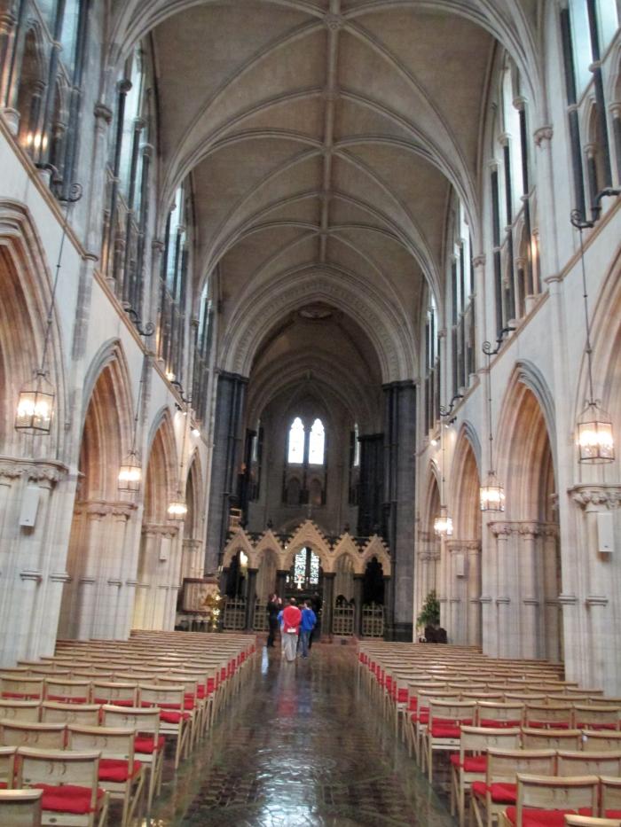 christ church cathedral dublin inside