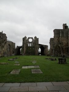 Elgin cathedral inside