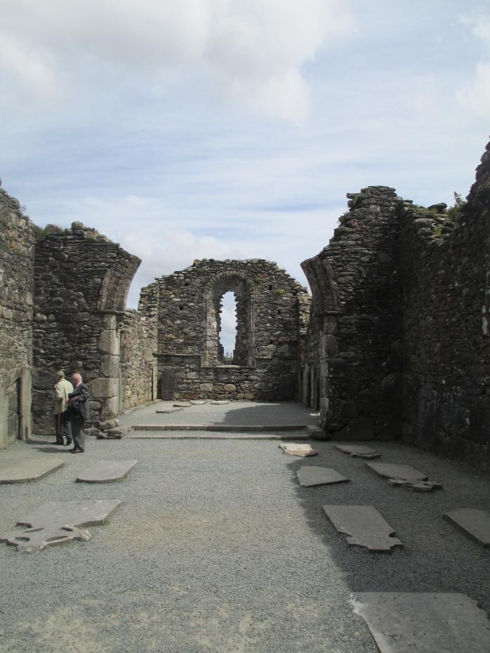 Glendalough cathedral inside