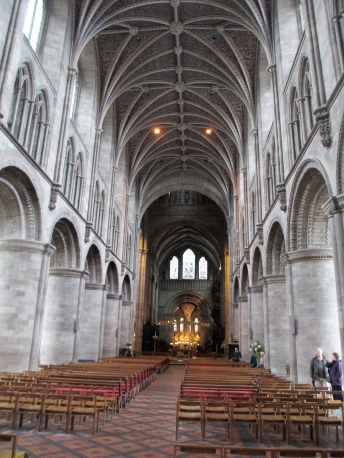 Hereford cathedral inside