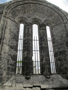Kilfenora cathedral inside