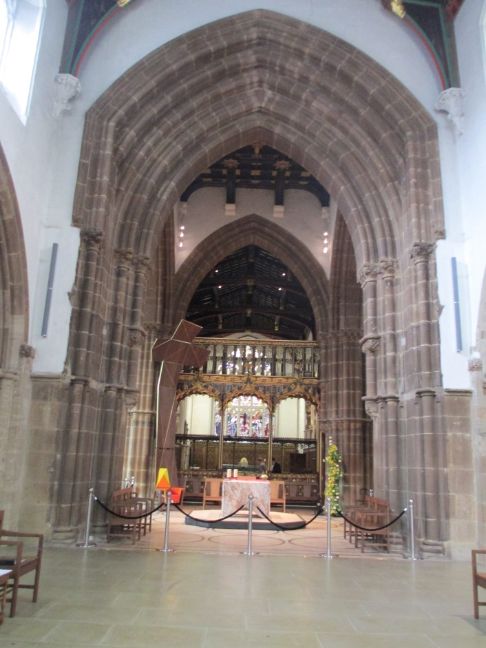 Leicester Cathedral inside