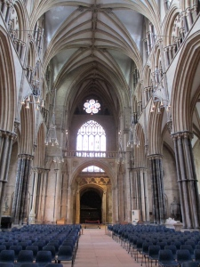 Lincoln Cathedral inside