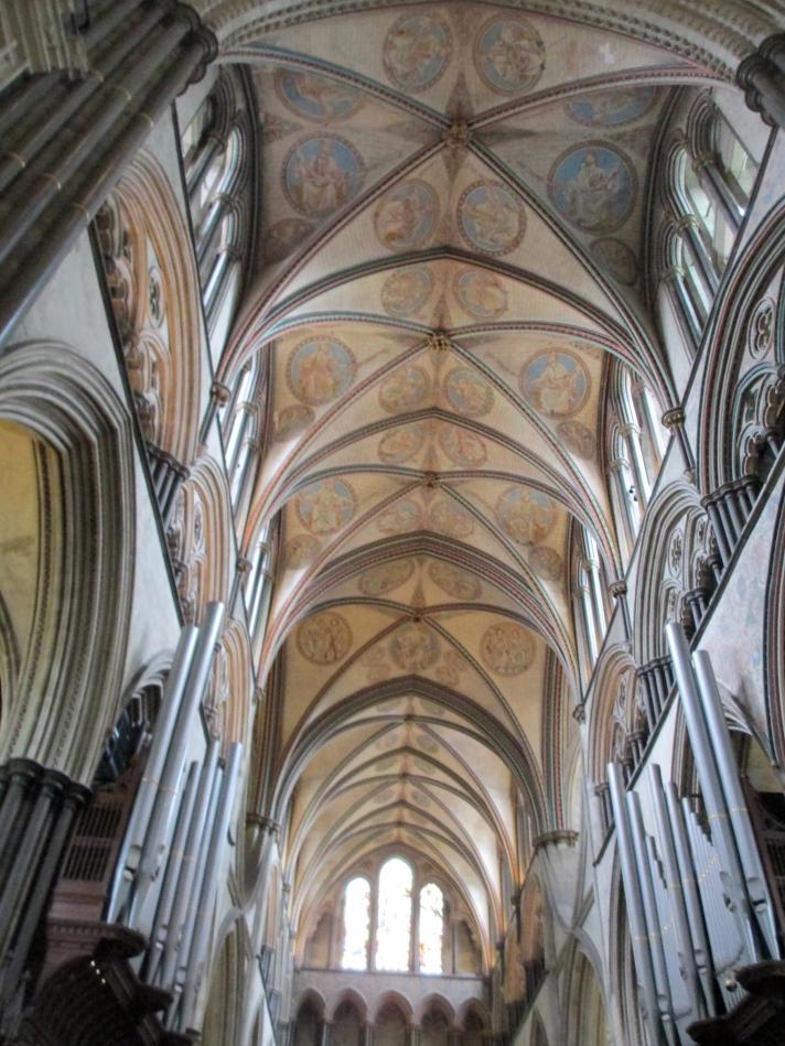 Salisbury cathedral inside