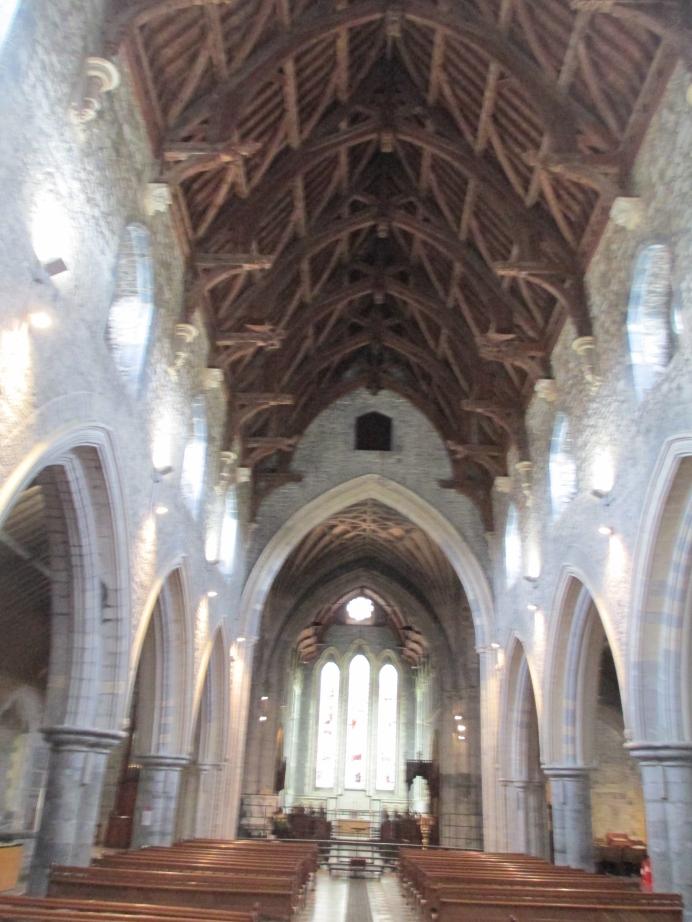 St Canice's Kilkenny inside