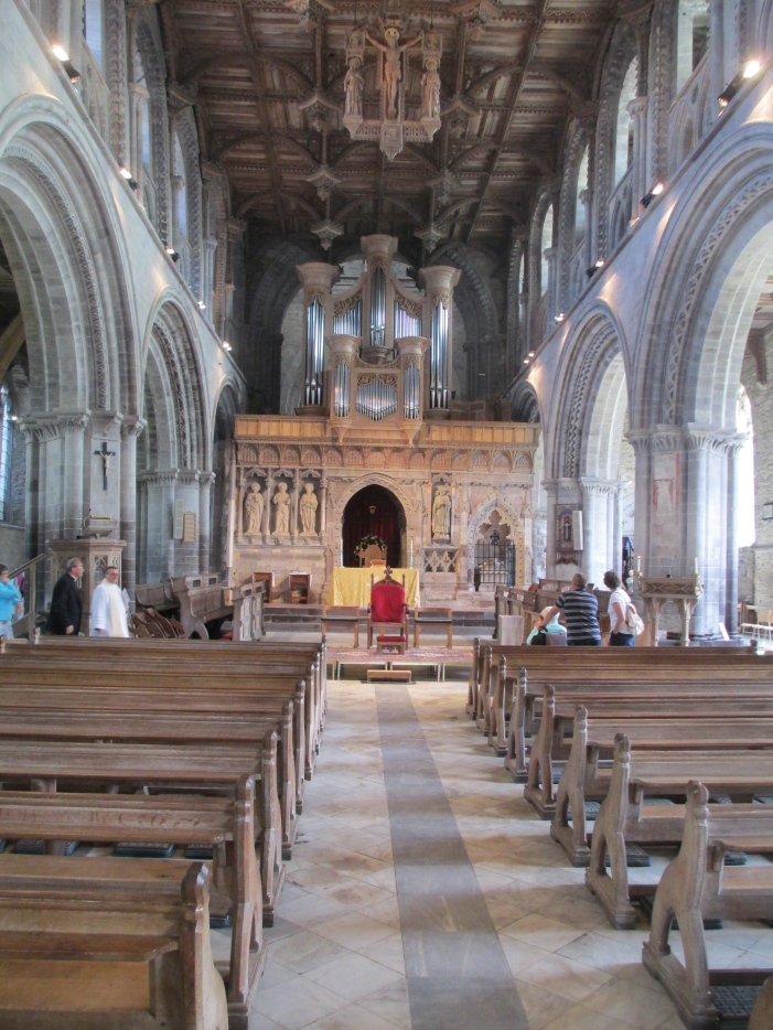 St David's Cathedral inside