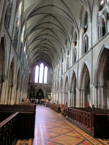 St Patrick's Cathedral Dublin inside