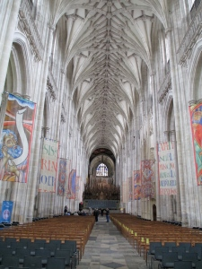 Winchester cathedral inside