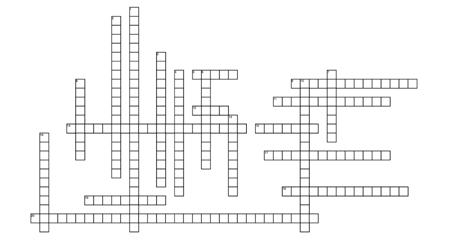 Crossword Puzzle Maker_ Final Puzzle